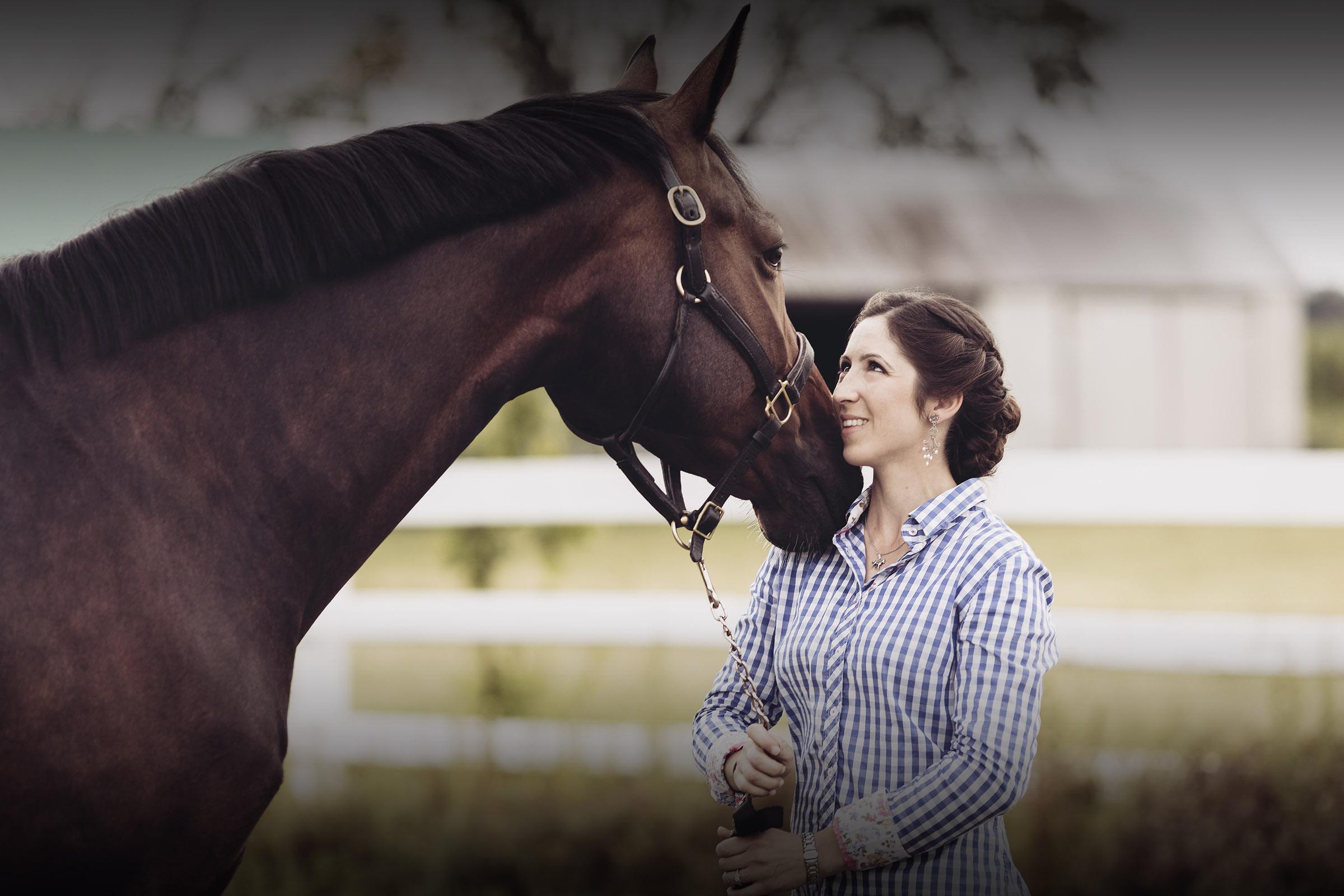 Catherine Goulet vétérinaire équin, ostéopathie et acupuncture équine